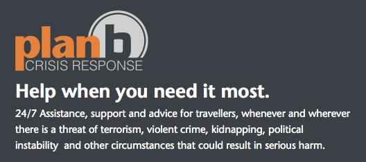 Crisis Response - kidnapp insurance