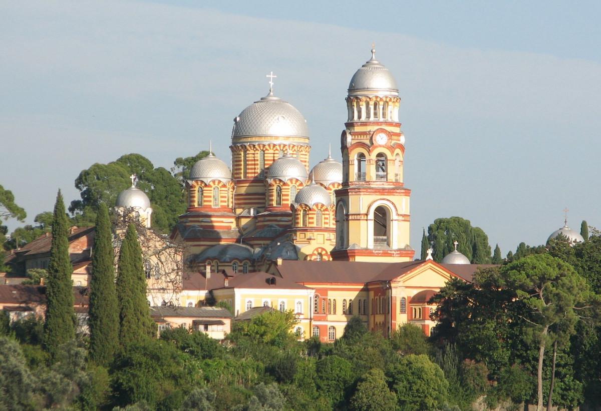 New Athos monastery. Artem Topchiy/CC BY 3.0 /File:Novoafonsky_monastyr.jpg