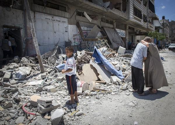 DESTROYED HOME - GAZA