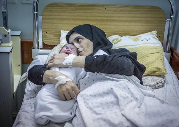 CHILDBIRTH IN GAZA