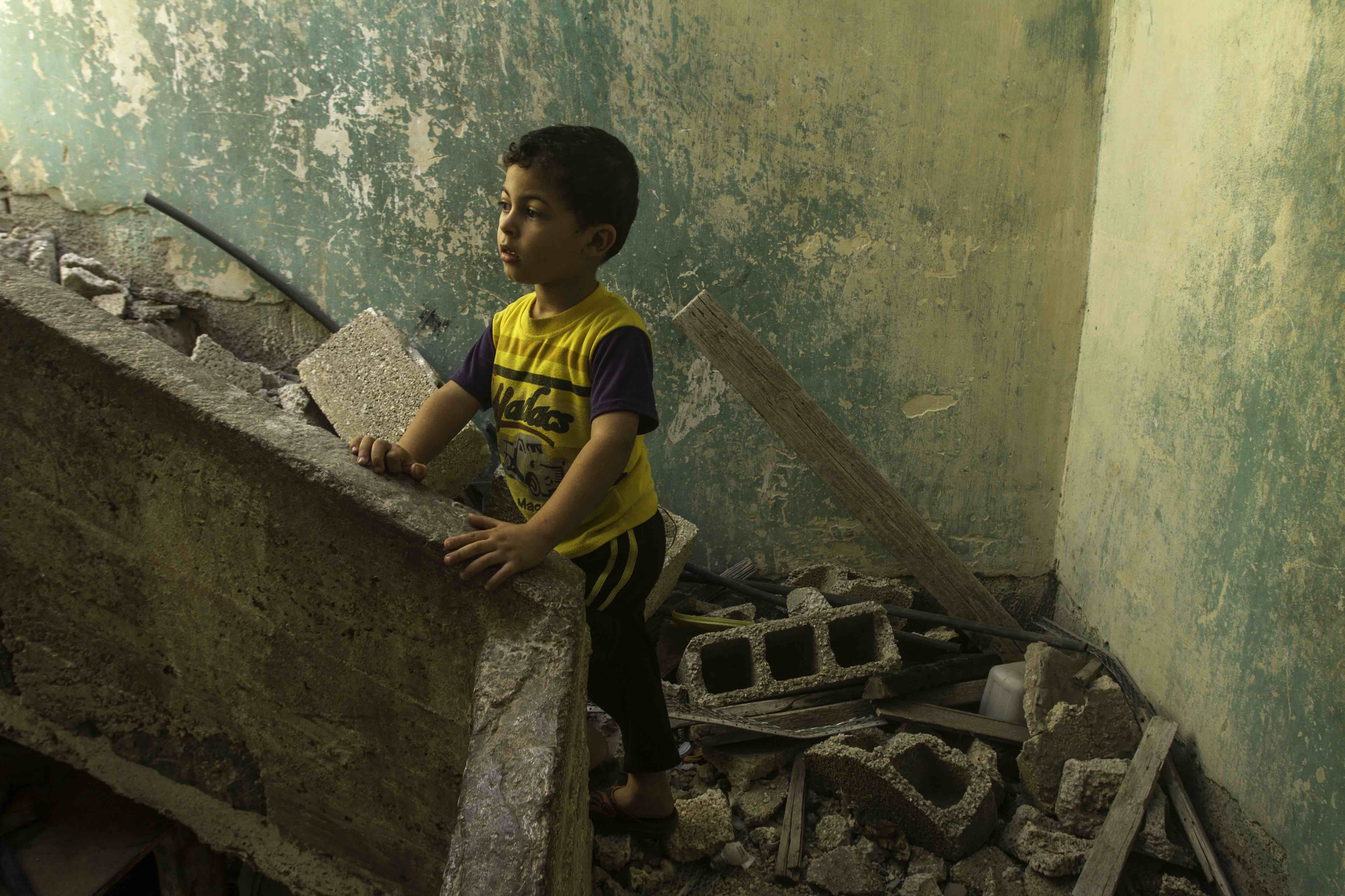 The Trouble with Rubble ( The Boy From Beit Hanun )