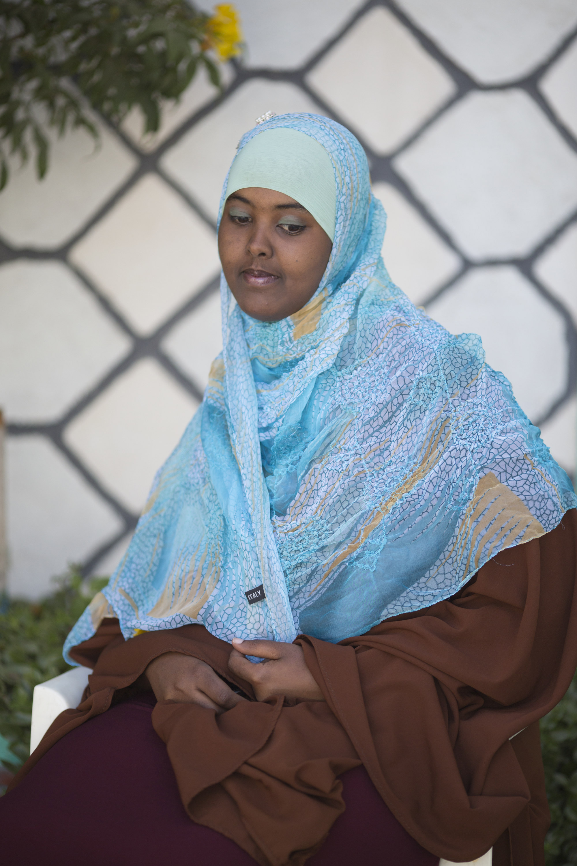 Ikram Ahmed is training to be a doctor and lives in Hargeisa, the capital of Somaliland.  Often confused with Somalia the country remains unrecognised as a country by the International Community, however many of the younger generation are now working to achieve better education and to work towards gaining independence for the country which survived a bloody civil war.