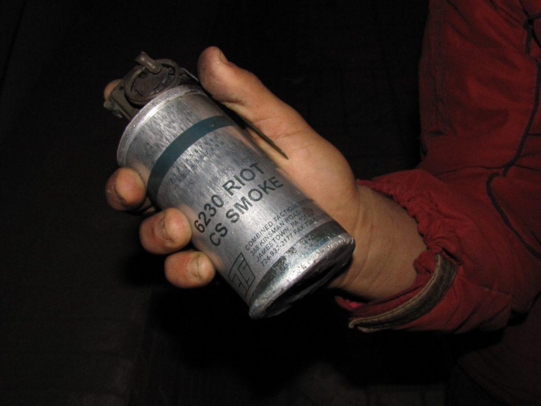 Tear Gas canister